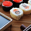 Traditional Japanese sushi — 图库照片