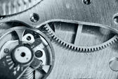 Watch gears close up — Stock Photo
