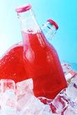 Garrafas com bebida — Foto Stock
