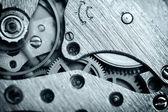 Watch mechanism very close up — Stock Photo