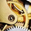 Stock Photo: Watch gears close up