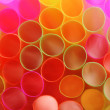 Color straws - Stock Photo