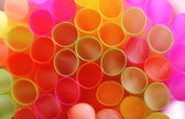 Color straws — Stock Photo