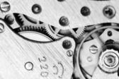 Watch mechanism very close up — Stock Photo