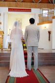 Novio y novia — Foto de Stock