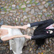 Groom and bride — Stock Photo #5088788