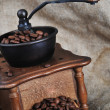 Manual coffee grinder — Stock Photo