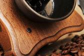Manuell kaffekvarn — Stockfoto