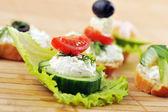 Small sandwich — Stock Photo
