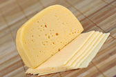 Piece of cheese — Stock Photo