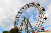 Wiener Riesenrad (Vienna Giant Ferris Wheel) — Stock Photo