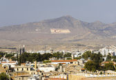 Northern Nicosia panorama — Stockfoto