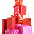 Stack of gifts — Stock Photo #3945932