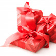 Red gifts - Stockfoto
