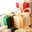 Heap of gifts - Foto Stock