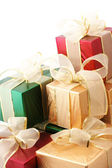 Heap of gifts — Стоковое фото