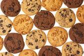 Geassorteerde cookies — Stockfoto