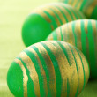 Green Easter eggs — Stock Photo #4008261