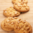 Stock Photo: Cookies with nuts