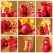Foto Stock: Christmas collage