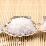 Bath salt of Dead Sea — Stock Photo