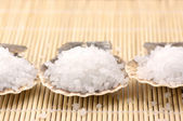 Bath salt of Dead Sea — Stock Photo