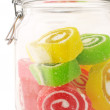 Royalty-Free Stock Photo: Colorful candy in jar
