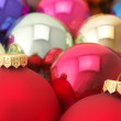 Various Christmas balls — Foto de Stock