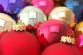 Various Christmas balls — Stock Photo