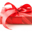Red gift - Stock fotografie