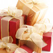 Stock Photo: Heap of gifts