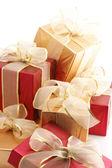 кучу подарков — Стоковое фото