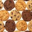 Assorted cookies — Stock Photo #4316915