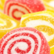 Stock Photo: Red and yellow candy