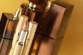 化妆品的黄金 — 图库照片