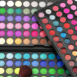 Eye shadows palettes — Stock fotografie