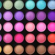 Eye shadows palette — Stock Photo