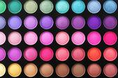Eye shadows palette — Stock Photo