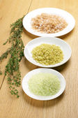 Various bath salt — Stockfoto