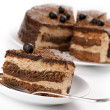 Homemade chocolate cake - Stockfoto