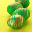Green Easter eggs — Stock Photo #5187008