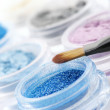Eye shadows close-up — Stock Photo
