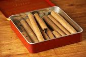 Cigars in box — Stock Photo