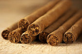 Heap of cigars — Stock Photo