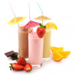 Royalty-Free Stock Photo: Various protein cocktails