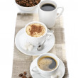 Various coffee — Stock Photo
