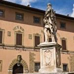 Piazza del Duomo, Arezzo, Tuscany, Italy — Stock Photo