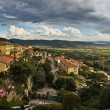 Royalty-Free Stock Photo: Panoramic view of Cortona, Tuscany, Italy