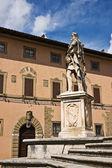 Piazza del duomo, arezzo, toskana, italien — Stockfoto