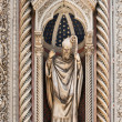 Florence Cathedral facade decoration, Tuscany, Italy — Stock Photo